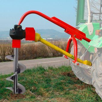 Zapfwellen Erdbohrer / Pfahlbohrer 350 mm mit Zapfwelle im Set – Bild $_i