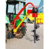 Zapfwellen Erdbohrer / Pfahlbohrer 350 mm mit Zapfwelle im Set