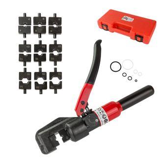 Hydraulische Presszange / Crimpzange 4-70 mm² für Adernendhülsen – Bild $_i