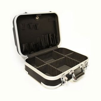 Hartschalenkoffer / Werkzeugkoffer ABS schwarz 6+ – Bild $_i