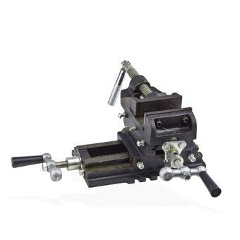 2-Achsen Maschinenschraubstock / Schraubstock 125 mm Backenbreite – Bild $_i