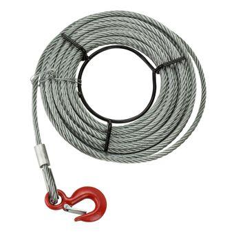 Handseilwinde / Seilwinde 1,6 Tonnen 20 m Seil – Bild $_i