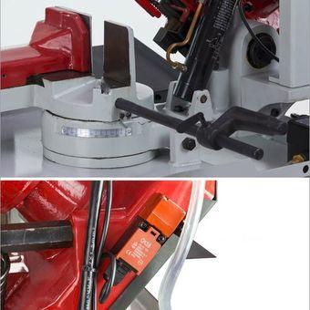 Metallbandsäge BS 400/1100 rot/grau – Bild $_i