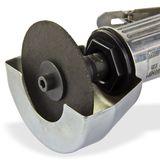 Druckluft Trennschleifer 1/4 Zoll Ø 75 mm mit Werkzeug und Trennblatt