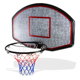 Basketballkorb Basketballbrett Basketballanlage Basketball Korb + Ring + Netz – Bild $_i