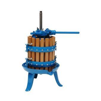 Obstpresse / Beerenpresse 5 Liter mit Holzkorb