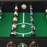 Profi Kicker / Tischfußball SILVER mit elektronischem Torzähler