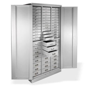 ADB Metall Schubladenschrank / Werkzeugschrank 60 Schubladen, 1790x800x410 mm – Bild $_i