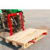 Universal Transportvorrichtung 225 kg für Traktor Schlepper Palettengabel