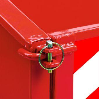 Heckcontainer / Heckmulde Basic rot 120x90x70 Kat 1 – Bild $_i