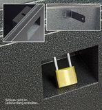 Metall Werkzeugkiste / Staukasten GREY-XXL 420 Liter