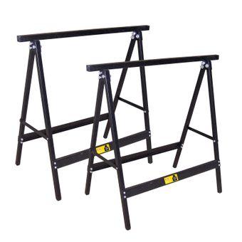 2x Metall Klappbock / Unterstellbock Set je 120kg
