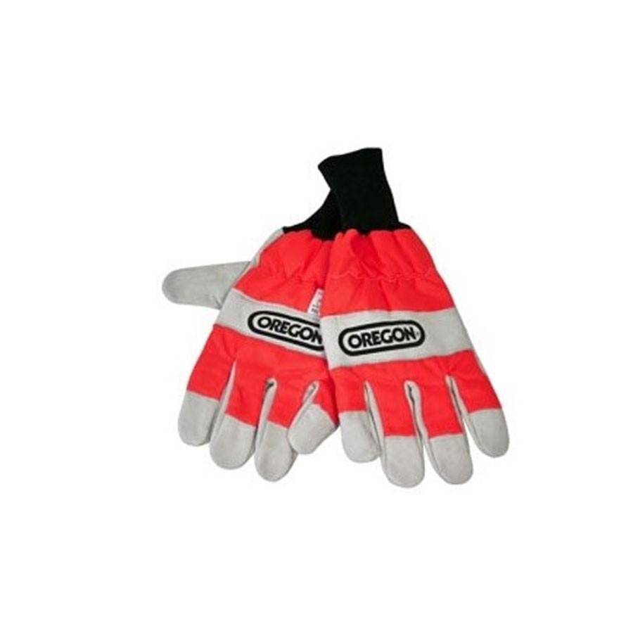 Oregon Forst Handschuhe Schnittschutz Kettensäge rot S-XL EN 381 91305XL