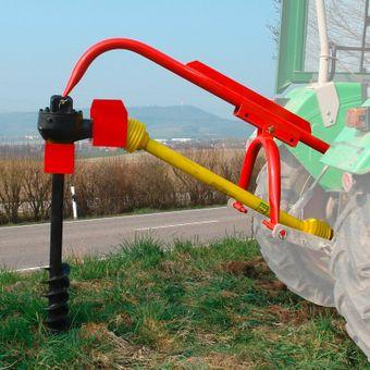 Zapfwellen Erdbohrer / Pfahlbohrer 150 mm – Bild $_i