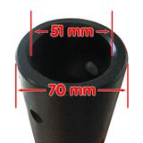 Zapfwellen Erdbohrer / Pfahlbohrer 150 mm