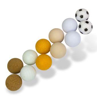 Kickerbälle / Bälle für Kicker Fußball 12 Stk. im Set
