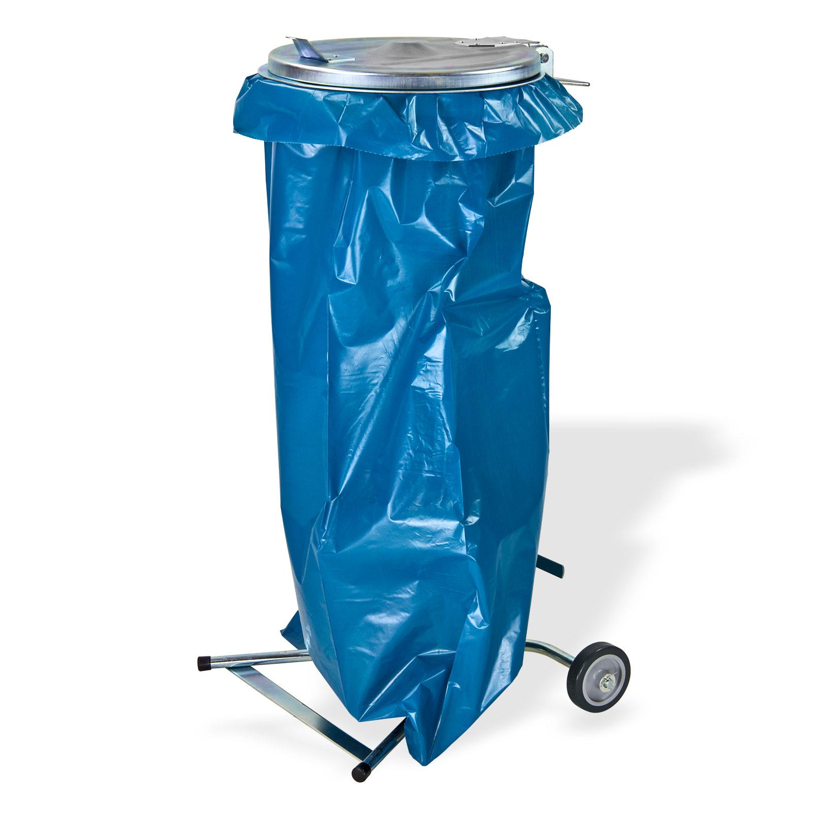 Dema Metall Müllsackständer / Abfallsammler / Müllsackhalter 120 Liter 15079