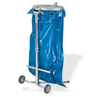 Metall Müllsackständer / Abfallsammler bis 120 Liter – Bild $_i