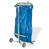 Metall Müllsackständer Abfallsammler Müllsackhalter Abfallsackständer 120 Liter