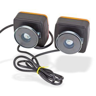 Magnet Beleuchtungssatz Rücklichter Beleuchtung 12V für Anhänger – Bild $_i