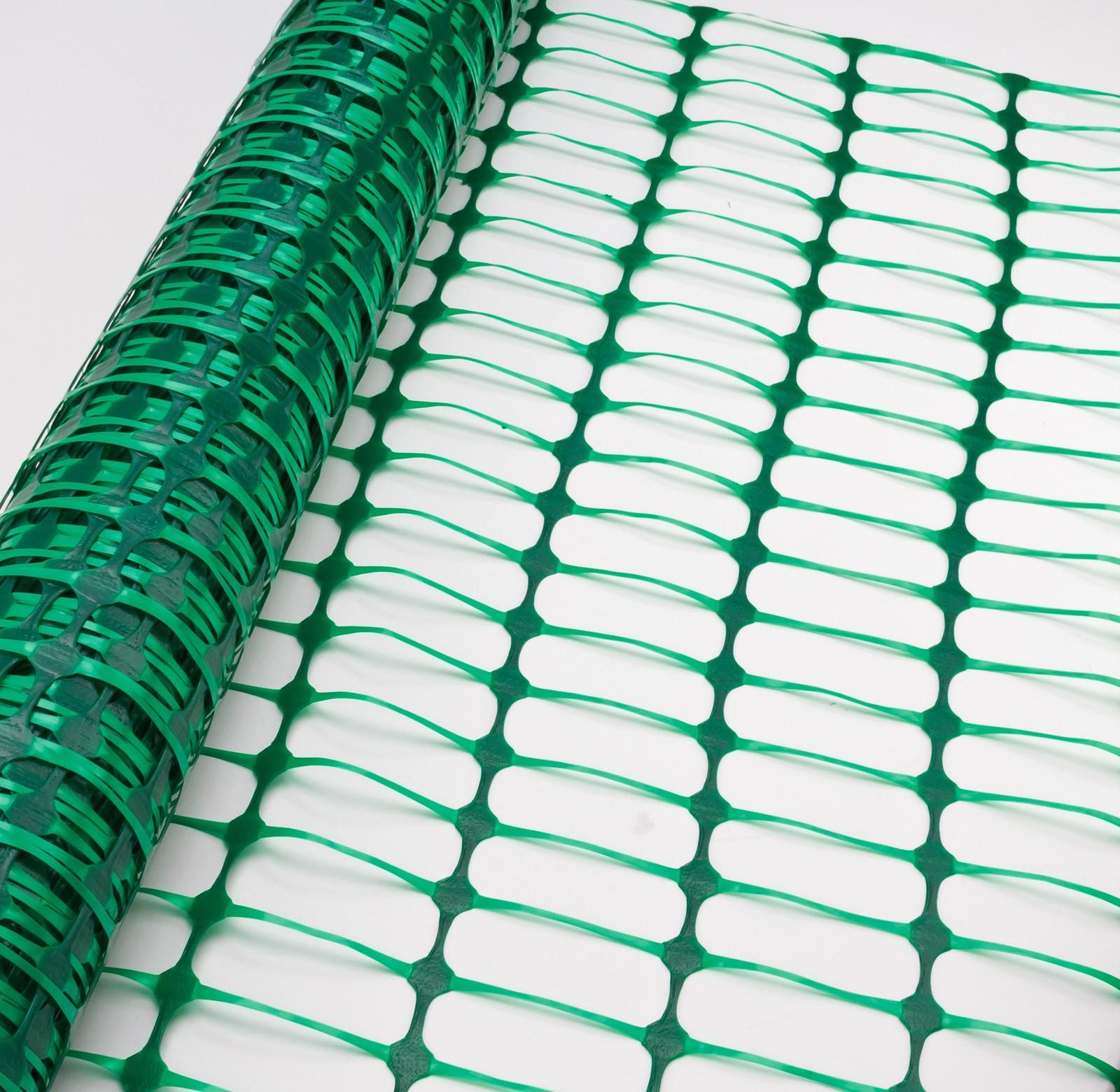 Dema Schutznetz Bauzaun Absicherungszaun Warnnetz Grün 30m x 1m 31247