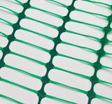 Schutznetz Bauzaun / Absicherungszaun Grün 30 x 1 Meter