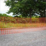 Schutznetz Bauzaun Absicherungszaun Orange 50m x 1m