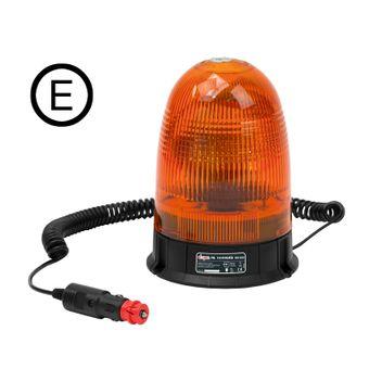 LED Rundumleuchte / Rundumlicht Gelb 12V mit Magnetfuß – Bild $_i