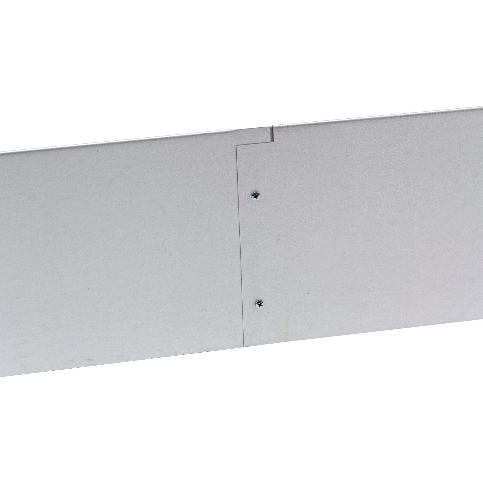 Metall Rasenkante 10er Set 118x13 cm mit hochwertiger Alu-Verzinkung