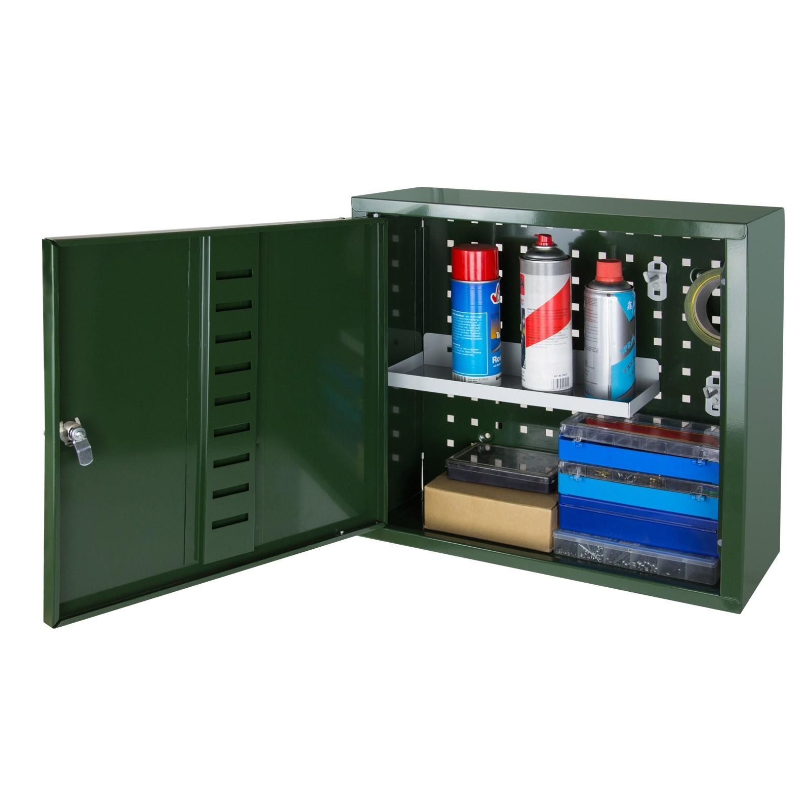 Dema Hängeschrank / Munitionsschrank grün 51x47x20 cm 40914