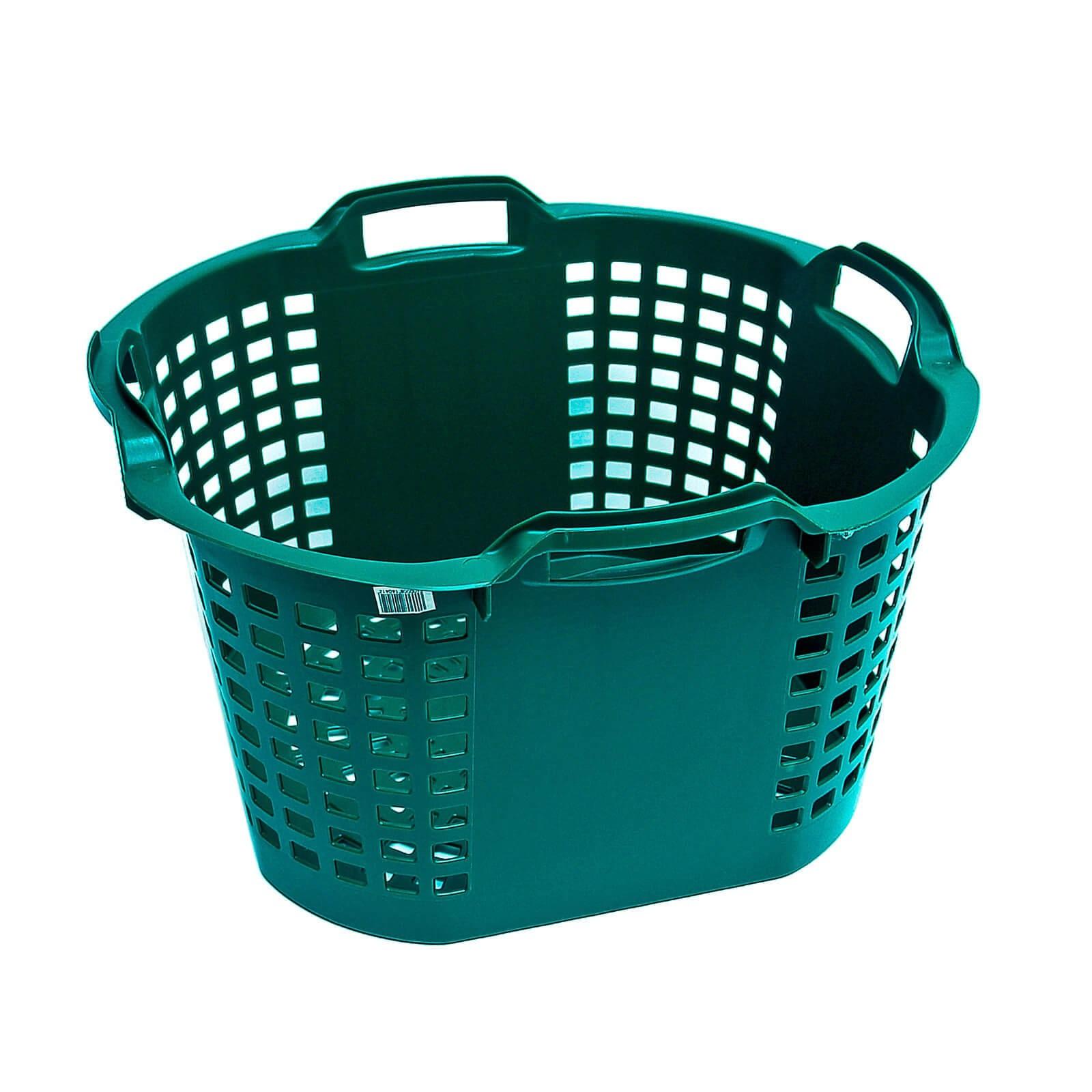 Multikorb Eimer flexibel Futtertrog Transporttrog Plastikkorb 25 Liter grün