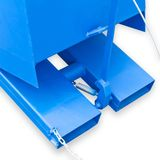 Kippcontainer / Staplerkippmulde Blau 300 Liter 146x54x65 cm