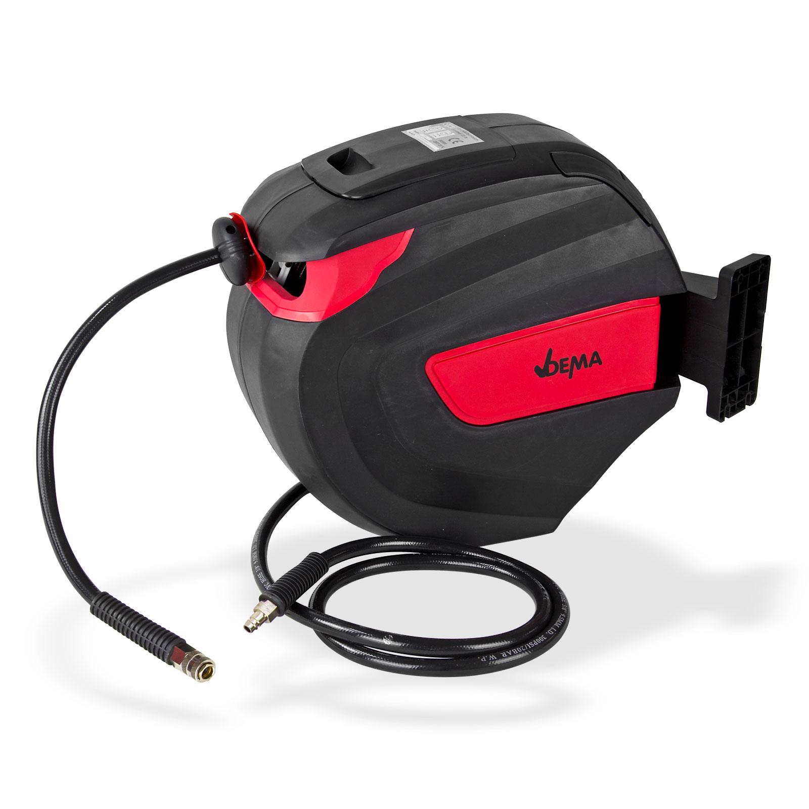Dema Druckluft Schlauchtrommel / Schlauchaufroller 25 m Automatik selbstaufrollend 53999