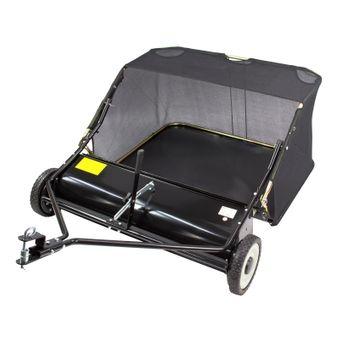 Rasenkehrmaschine / Laubkehrmaschine für Rasentraktor 95 cm