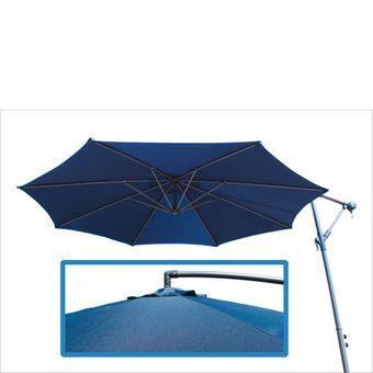 Ampelschirm / Sonnenschirm 3 Meter blau – Bild $_i