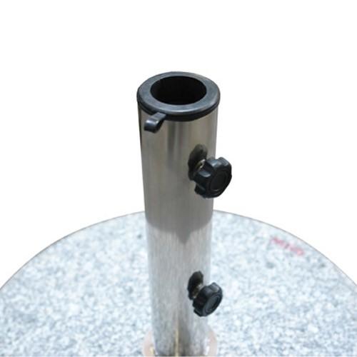 sonnenschirmst nder schirmst nder rund 45cm granit 40 kg rollen. Black Bedroom Furniture Sets. Home Design Ideas