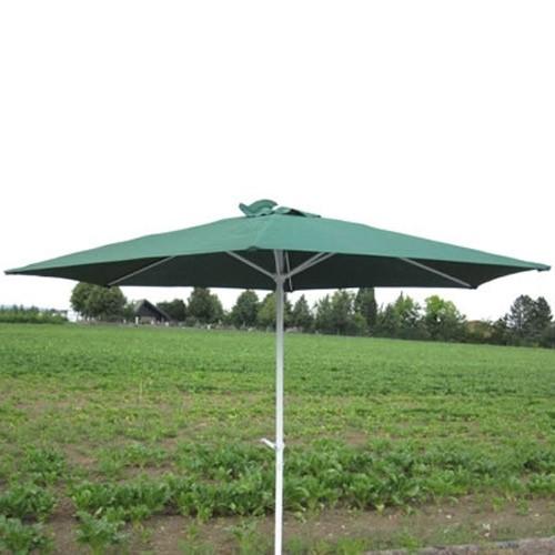 Dema Marktschirm Sonnenschirm 300 cm grün Kurbel Gartenschirm Schirm Sonnenschutz 41017