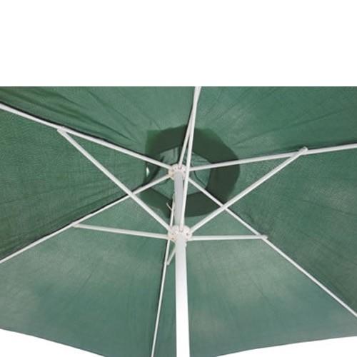 Marktschirm Sonnenschirm 300 Cm Grun Mit Kurbel