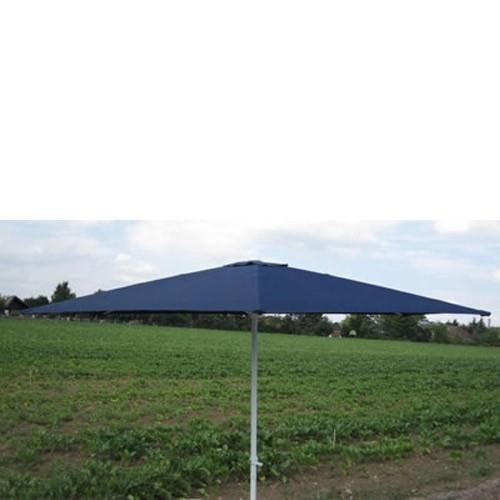Dema Marktschirm Sonnenschirm 300 cm blau Kurbel Gartenschirm Schirm Sonnenschutz 41016