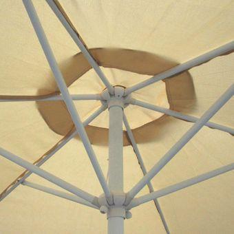 Marktschirm / Sonnenschirm 300 cm beige mit Kurbel – Bild $_i