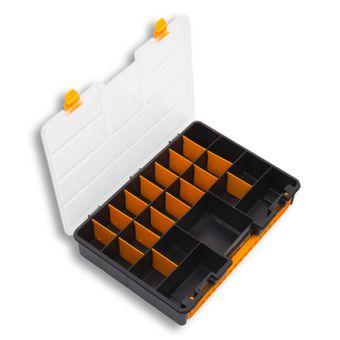 Kunststoff Sortimentskoffer / Sortimentskasten mit Tragegriff – Bild $_i