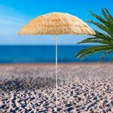 Hawaii Sonnenschirm / Strohschirm natur 160 cm UV-30