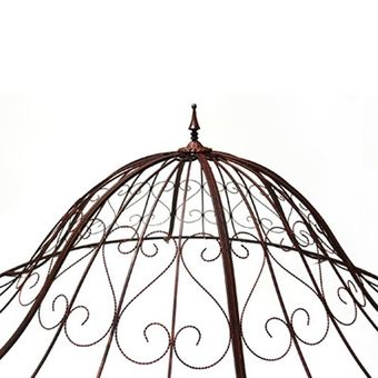 Garten Pavillon / Metallpavillon SUN Antik-Kupfer-Look – Bild $_i