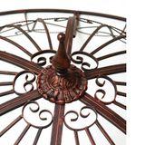 Garten Pavillon / Metallpavillon SUN Antik-Kupfer-Look