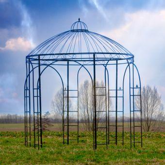 Garten Pavillon / Metall-Pavillon EXCLUSIV Gartenpavillon Deko