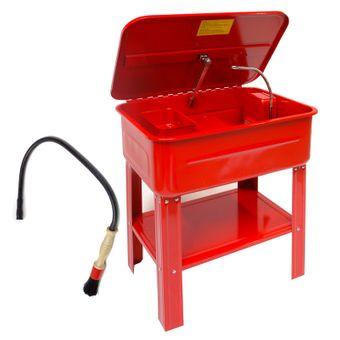 Profi Teilewaschgerät / Teilereiniger 80 Liter + Reinigungspinsel – Bild $_i