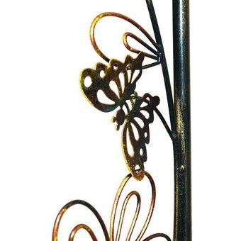 Rosenbogen / Rosenspalier Metall SUN Gartendeko Rankhilfe – Bild $_i