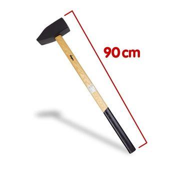 Vorschlaghammer 8 kg, Länge 90 cm, mit Esche-Holzstiel – Bild $_i