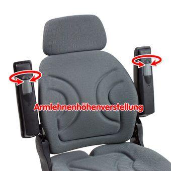 Traktorsitz / Schleppersitz luftgefedert – Bild $_i
