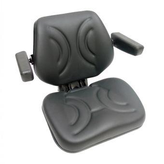 Traktorsitz / Schleppersitz Star 07BS schwarz mit Armlehne – Bild $_i